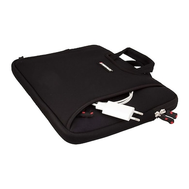 Neopack 3BK12 Handle Sleeve Bag For 12 Inch Laptops And 11.6 Inch Macbook Air Black Price in India
