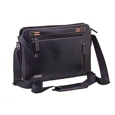 Neopack 46BK13 Urban Messenger Bag 13.3 Inch Laptops And Macbooks Black Price in India