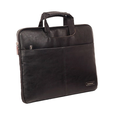 Neopack 9BK13 Leather Sleeve Laptop Bag 13.3 Inch Laptops And Macbooks Black Price in India