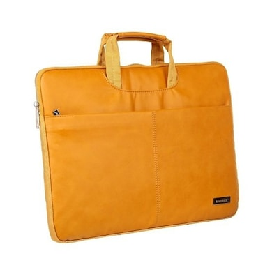 Neopack 9TN13 Leather Sleeve Laptop Bag 13.3 Inch Laptops And Macbooks Tan Price in India