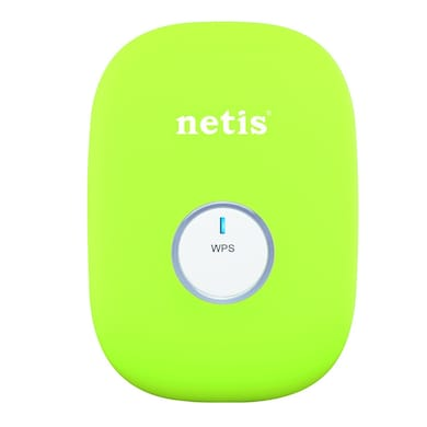 Netis E1+ 300 Mbps Wirless N Range Extender With mobile interface Green Price in India
