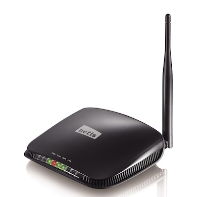 Netis WF2210 150 Mbps Wirless N HIGH Power Access Piont Black Price in India