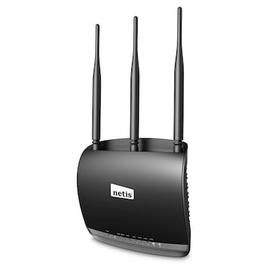 Netis WF2533 300Mbps Wireless N High Power Router Black Price in India