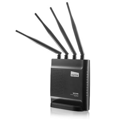 Netis WF2780 AC1200 Wireless Dual Band Gigabit Router Black Price in India