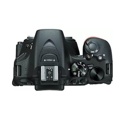 Nikon D5500 DSLR Camera with Single Lens: AF-S 18-140mm VR Kit Lens+16 GB SD Card+Camera Bag Black Price in India