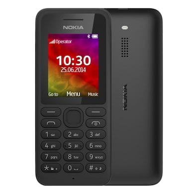Nokia 130 Dual Sim Feature Phone (Black) Price in India