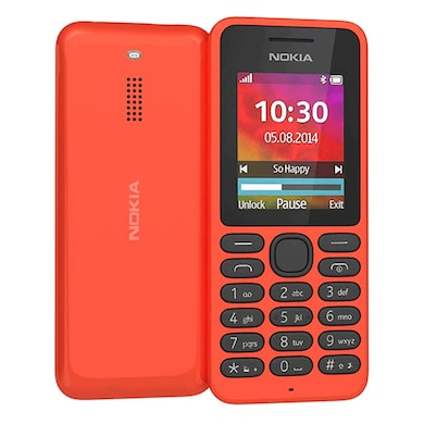 Nokia 130 Dual Sim Feature Phone (Red) Price in India