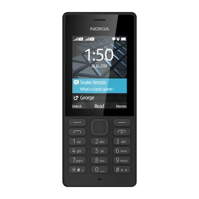 Nokia 150 Dual SIM, 2.4 Inch VGA Display,Camera (Black, 4MB RAM) Price in India