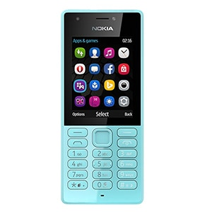 NOKIA 216 Dual SIM Feature Phone Blue