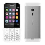 Buy Nokia 230 Dual SIM Feature Phone Silver Online