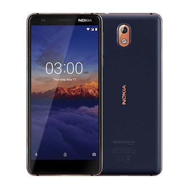 Nokia 3.1 DS (Blue and Copper, 2GB RAM, 16GB) Price in India