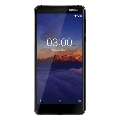 Nokia 3.1 DS (Black, 2GB RAM, 16GB) Price in India