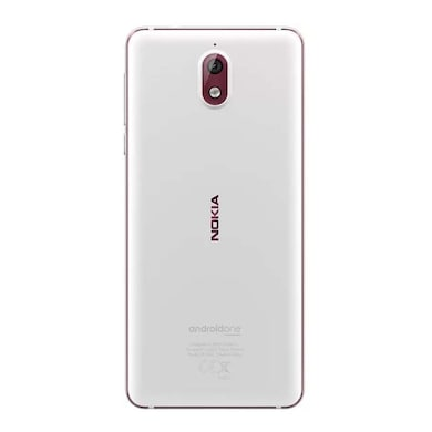 Nokia 3.1 DS (White, 2GB RAM, 16GB) Price in India