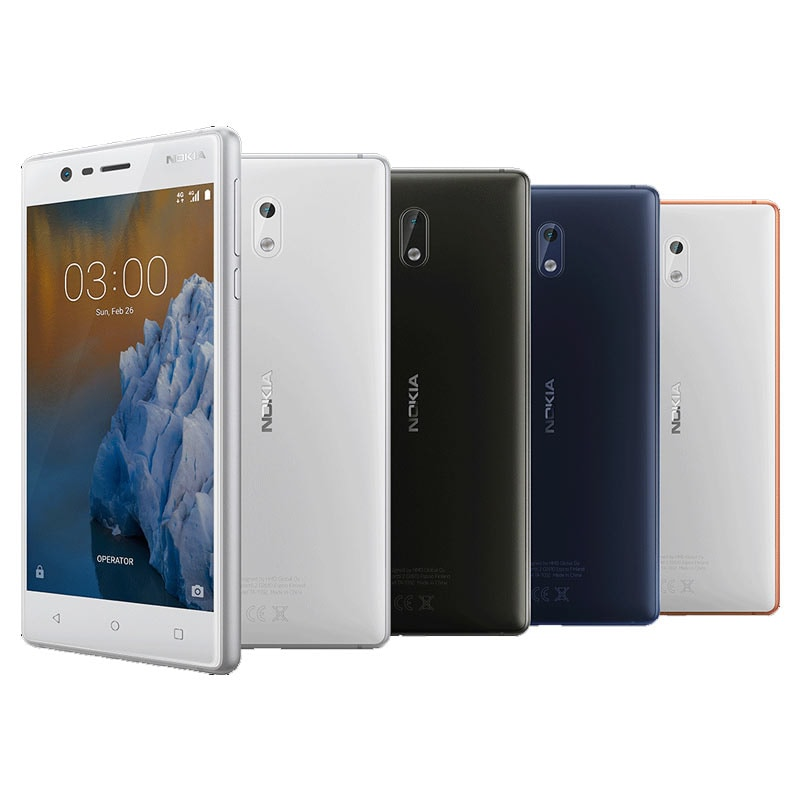 Nokia 3 (2 GB RAM, 16 GB) Matte Black images, Buy Nokia 3 (2 GB RAM, 16 GB) Matte Black online at price Rs. 8,499