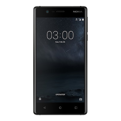 Nokia 3 (2 GB RAM, 16 GB) Matte Black images, Buy Nokia 3 (2 GB RAM, 16 GB) Matte Black online at price Rs. 8,000