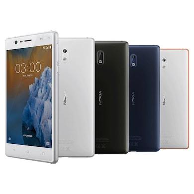 Nokia 3 (Tempered Blue, 2GB RAM, 16GB) Price in India