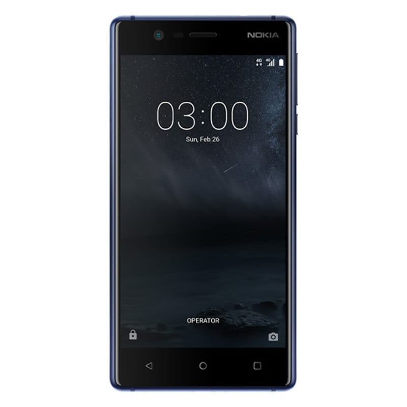 Nokia 3 (2 GB RAM, 16 GB) Blue images, Buy Nokia 3 (2 GB RAM, 16 GB) Blue online at price Rs. 8,799