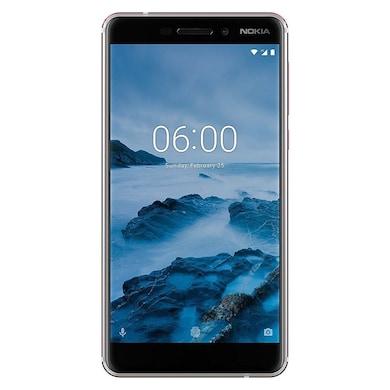 Nokia 6.1 (White, 3GB RAM, 32GB) Price in India