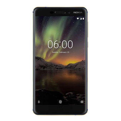 Nokia 6.1 (Blue and Gold, 4GB RAM, 64GB) Price in India
