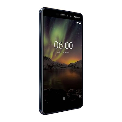 Nokia 6.1 (4 GB RAM, 64 GB) Blue and Gold images, Buy Nokia 6.1 (4 GB RAM, 64 GB) Blue and Gold online at price Rs. 14,499