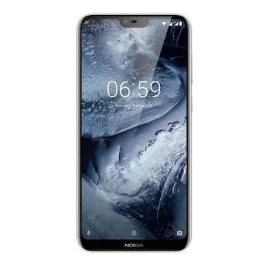 Nokia 6.1 Plus (White, 4GB RAM, 64GB) Price in India