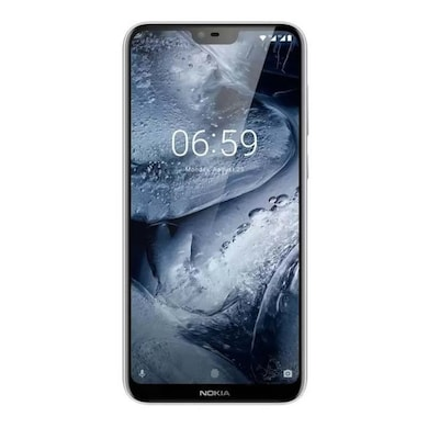 Nokia 6.1 Plus (White, 4GB RAM, 64GB) Price in India
