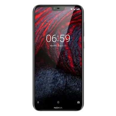 Nokia 6.1 Plus (Black, 4GB RAM, 64GB) Price in India