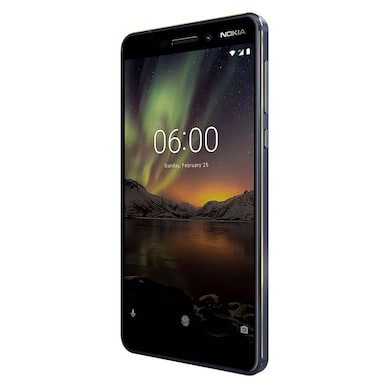 Unboxed Nokia 6.1 (Blue and Gold, 4GB RAM, 64GB) Price in India