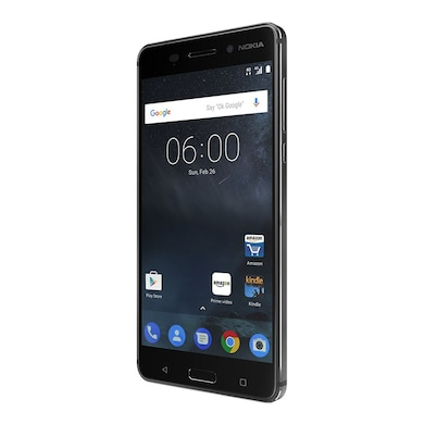 Nokia 6 (Matte Black, 3GB RAM, 32GB) Price in India