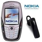 Buy Refurbished Nokia 6600 with Bluetooth White Online
