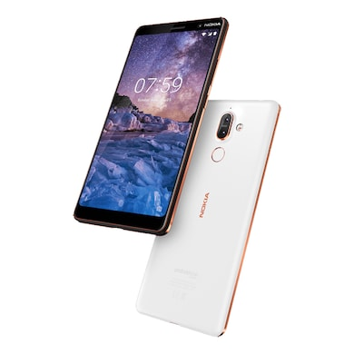 Nokia 7 Plus (White and Copper, 4GB RAM, 64GB) Price in India