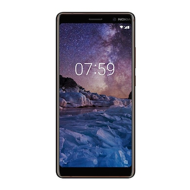 Nokia 7 Plus (4 GB RAM, 64 GB) Black and Copper images, Buy Nokia 7 Plus (4 GB RAM, 64 GB) Black and Copper online at price Rs. 24,399