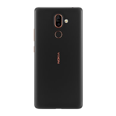 Refurbished Nokia 7 Plus (Black and Copper, 4GB RAM, 64GB) Price in India
