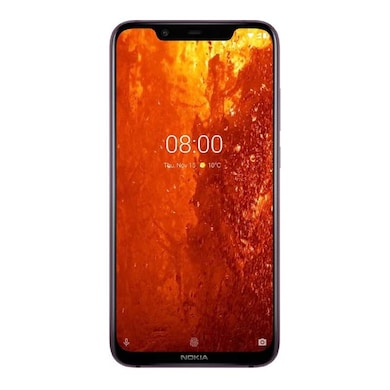 Nokia 8.1 (Iron, 4GB RAM, 64GB) Price in India