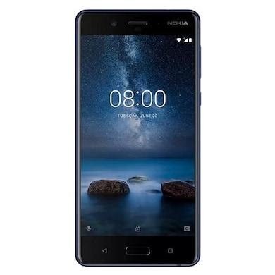 Nokia 8 (Tempered Blue, 4GB RAM, 64GB) Price in India