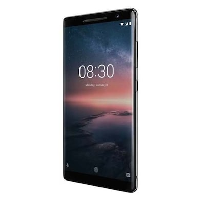 Nokia 8 Sirocco (6 GB RAM, 128 GB (Black, 6GB RAM, 128GB) Price in India