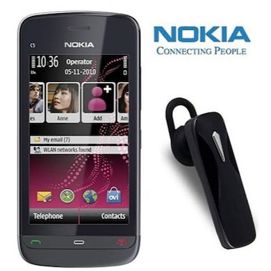 Refurbished Nokia C503 with Bluetooth (Black) Price in India