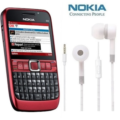new product 37a35 d4c37 Refurbished Nokia E63 with Earphone