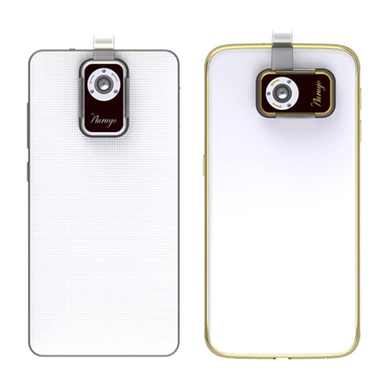 Buy Nurugo Micro 400 X Smartphone Portable Microscope Gold online