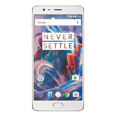 OnePlus 3 (6GB RAM, 64 GB) Soft Gold images, Buy OnePlus 3 (6GB RAM, 64 GB) Soft Gold online at price Rs. 21,990