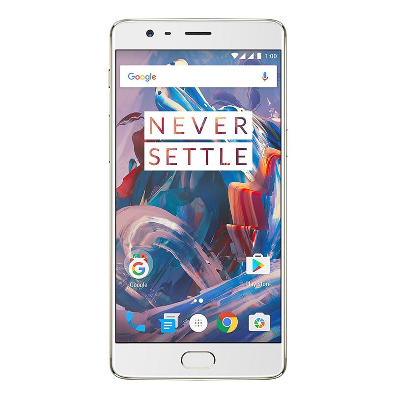 OnePlus 3 (6GB RAM, 64 GB) Soft Gold images, Buy OnePlus 3 (6GB RAM, 64 GB) Soft Gold online at price Rs. 26,549
