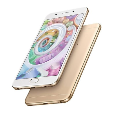 Refurbished Oppo F1s (Gold, 4GB RAM, 64GB) Price in India