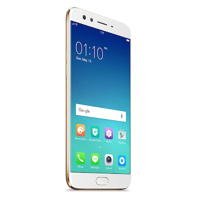 Refurbished Oppo F3 Plus (Gold, 6GB RAM, 64GB) Price in India