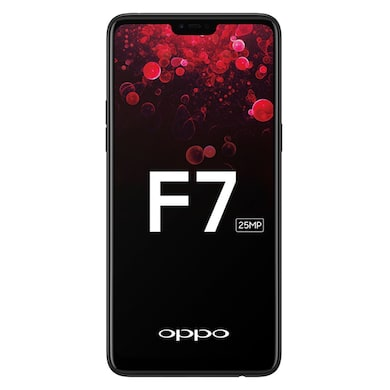 Oppo F7 (Black, 6GB RAM, 128GB) Price in India