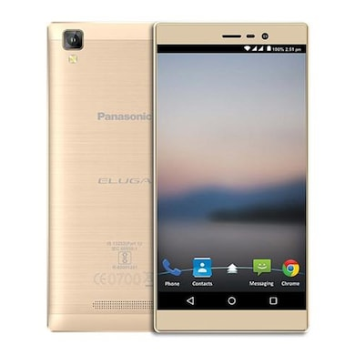 Panasonic Eluga A2 Metallic Gold, 16 GB images, Buy Panasonic Eluga A2 Metallic Gold, 16 GB online at price Rs. 8,210