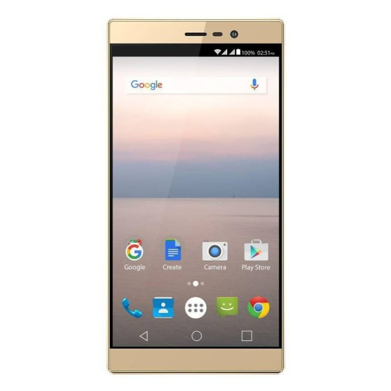 Buy Panasonic Eluga A2 Metallic Gold, 16 GB online