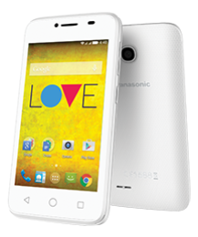 Panasonic Eluga T35 LUV 2 (White, 512MB RAM, 4GB) Price in India