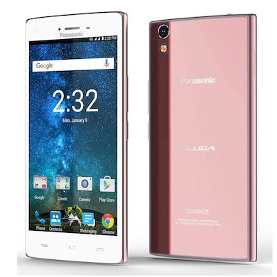 Panasonic Eluga Turbo Rose Gold, 32 GB images, Buy Panasonic Eluga Turbo Rose Gold, 32 GB online at price Rs. 11,209