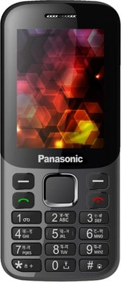 Panasonic GD25C with 2.4 Inch Display, 1.3 MP Camera, FM Radio (Grey and Black) Price in India