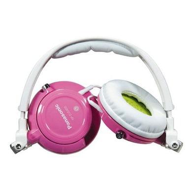 Panasonic RP-DJS400 Over The Ear Headphone Pink Price in India